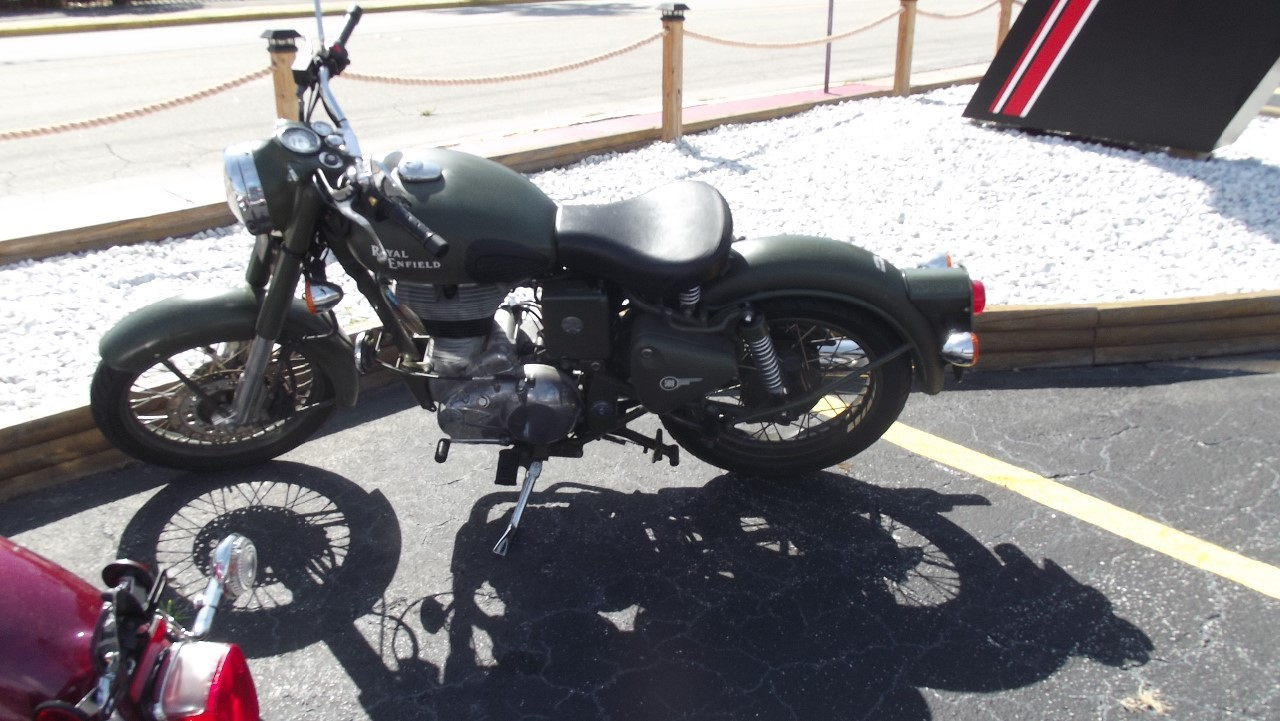 2010 Royal Enfield BULLET C5 MILITARY, motorcycle listing