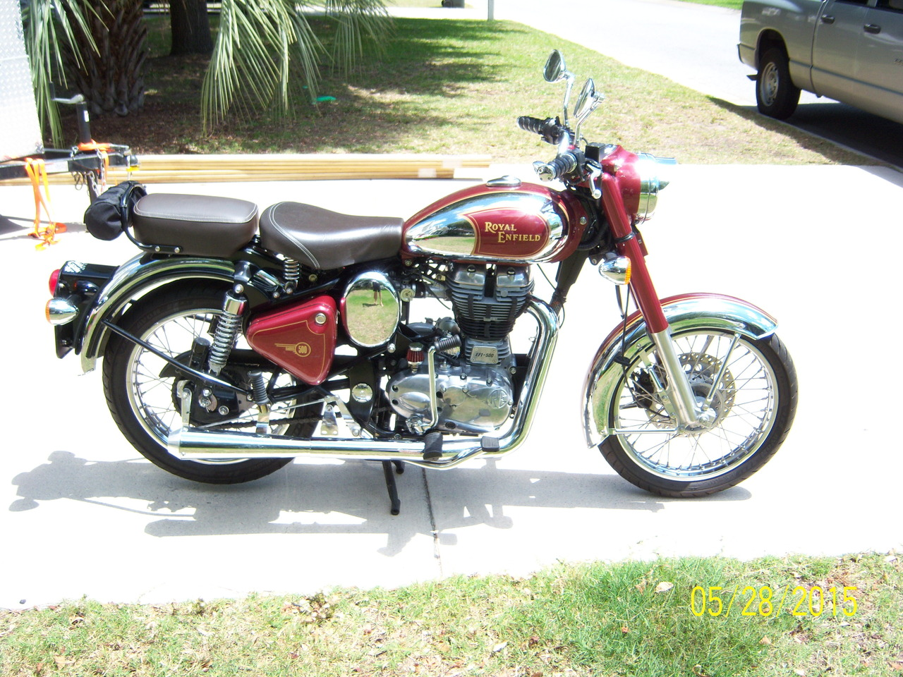 2012 Royal Enfield Bullet C5 CHROME (EFI) LIMITIED EDITION, motorcycle listing