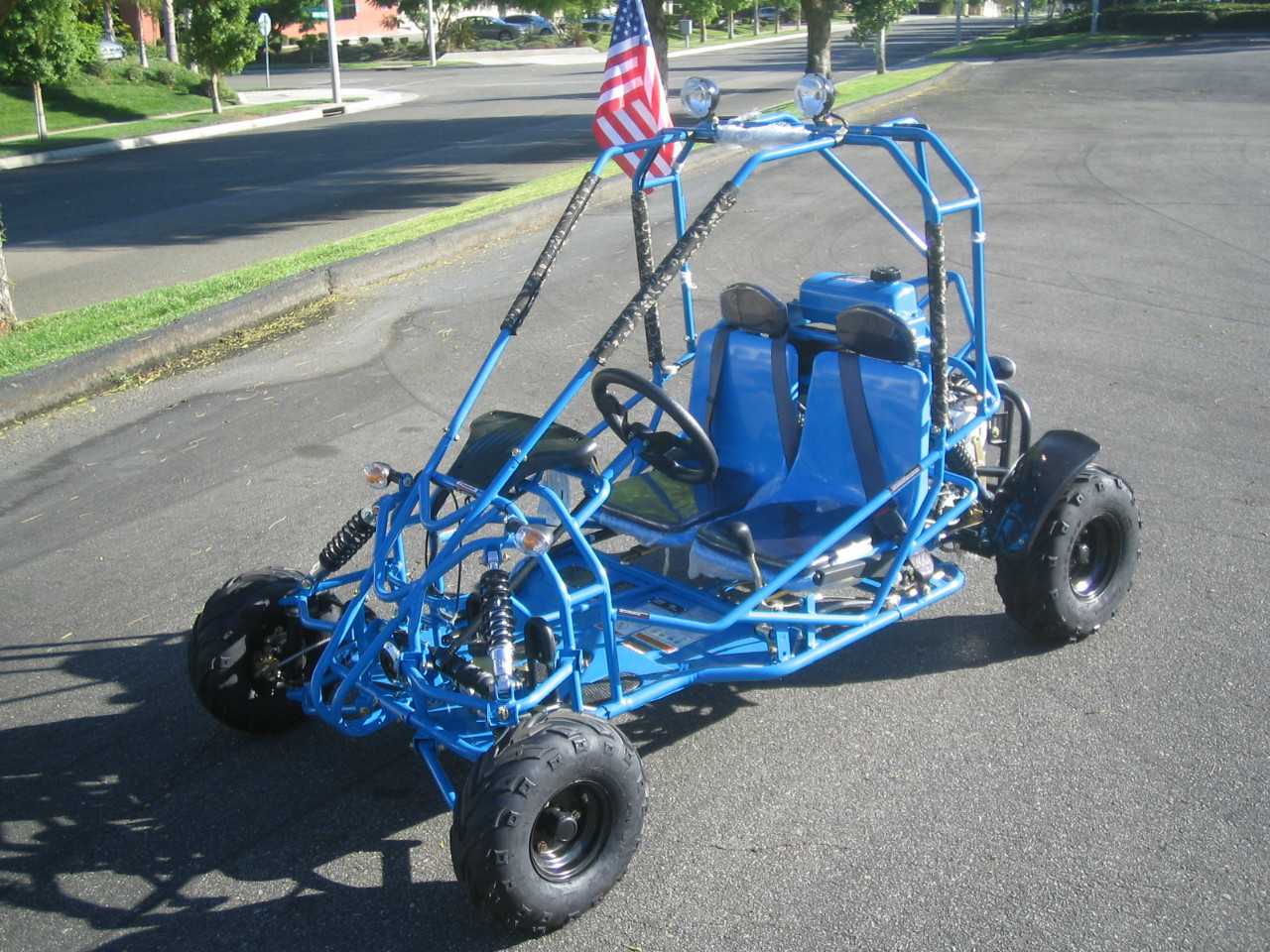 2014 Power Kart 110cc Spider Go Kart ON SALE from SaferWholesale, motorcycle listing