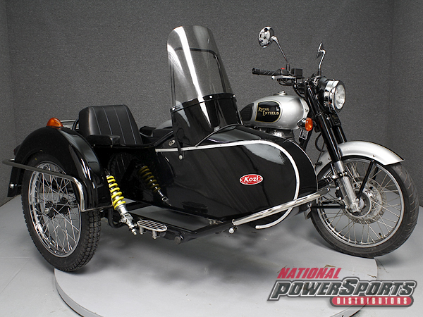 2014 Royal Enfield BULLET C5 CLASSIC W/KOZI SIDECAR, motorcycle listing