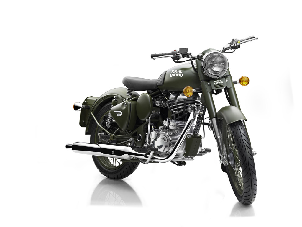 2014 Royal Enfield BULLET C5 MILITARY, motorcycle listing