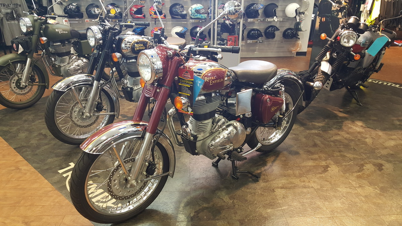 2014 Royal Enfield Classic Chrome, motorcycle listing