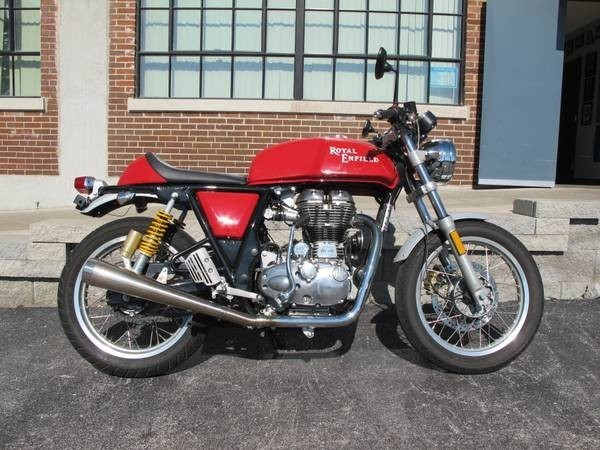 2014 Royal Enfield Continental, motorcycle listing