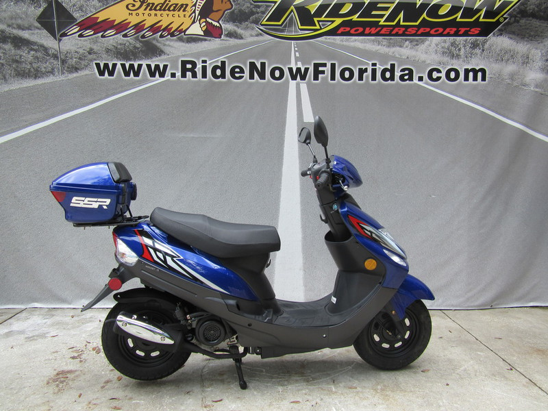 2014 Ssr Europa 50, motorcycle listing
