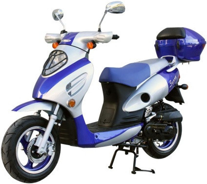 2014 Sunny 50cc 4-Stroke Moped Scooter on SafeWholesale, motorcycle listing