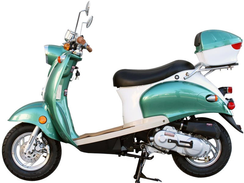2014 Sunny 50cc Aurora Moped Scooter found on SaferWholesale, motorcycle listing