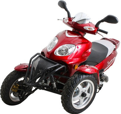 2014 Sunny 50cc Super Trike Scooter Moped sale from SaferWholesale, motorcycle listing