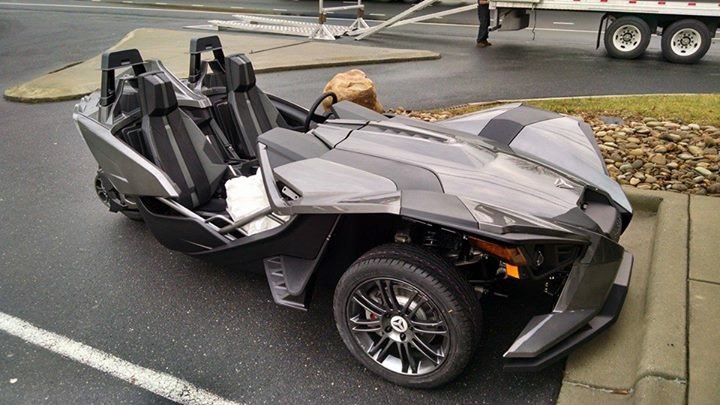 2015 Polaris SLINGSHOT BASE MODEL, motorcycle listing