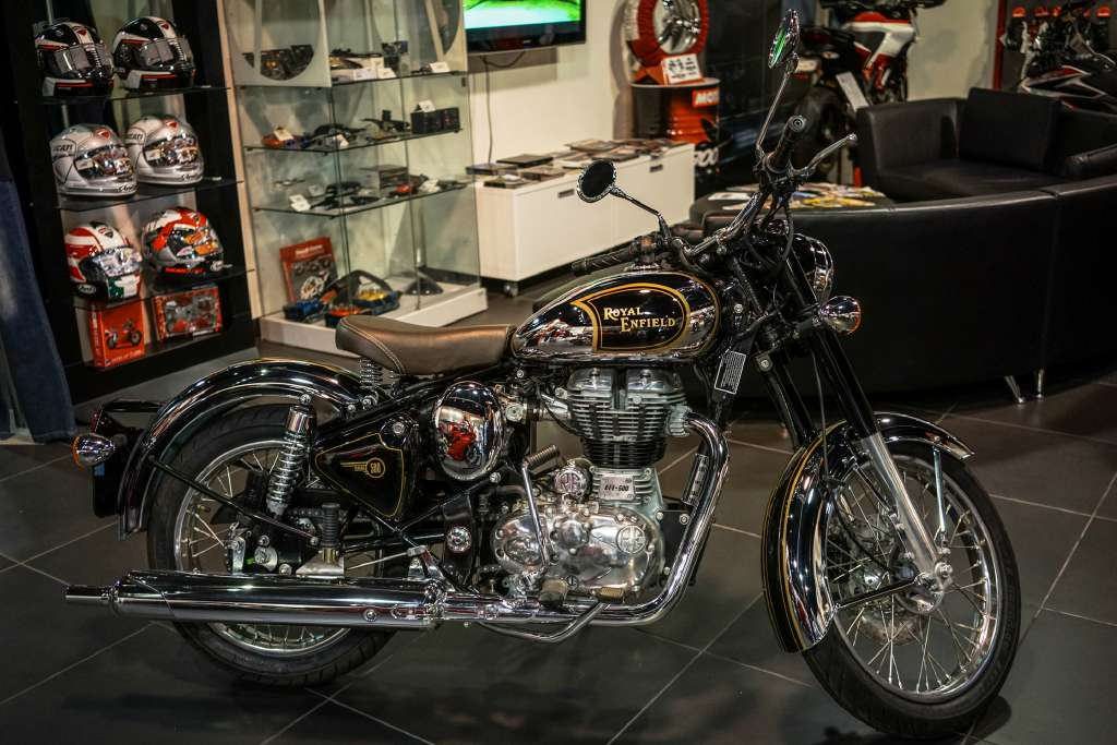 2015 Royal Enfield Bullet C5 Chrome (EFI), motorcycle listing