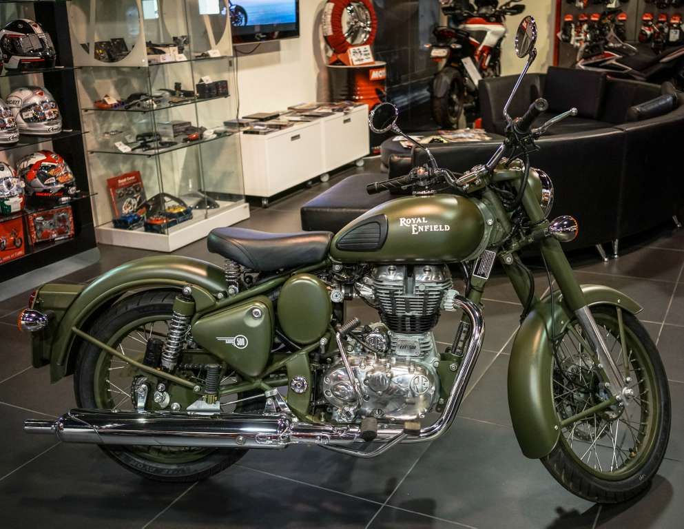 2015 Royal Enfield Bullet C5 Military, motorcycle listing