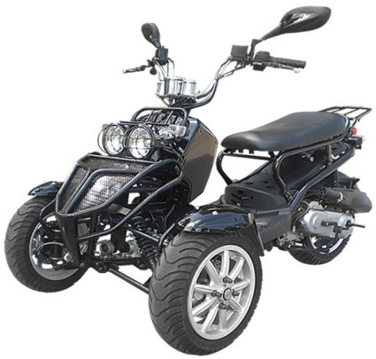 2015 Sunny 150cc Three-Wheel Ruckus Style Trike Scooter Moped, motorcycle listing