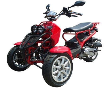 2015 Sunny 50cc Three-Wheel Ruckus Style Trike Scooter Moped, motorcycle listing