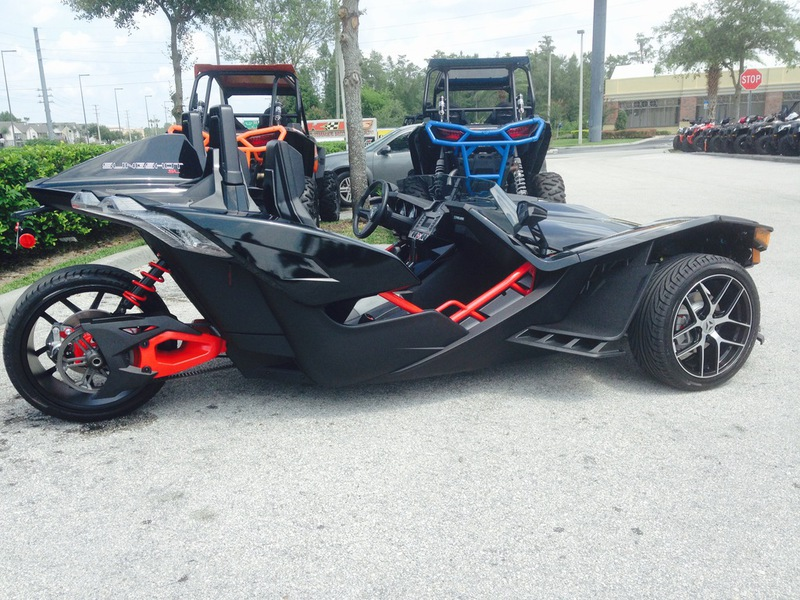 Reverse trike motorcycle for sale