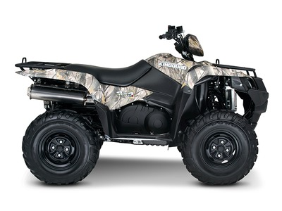 2015 Suzuki KingQuad 500AXi Power Steering Camo, motorcycle listing