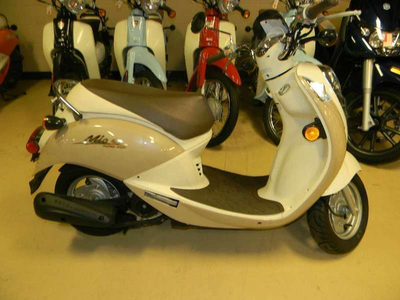 2009 SYM Mio 50, motorcycle listing