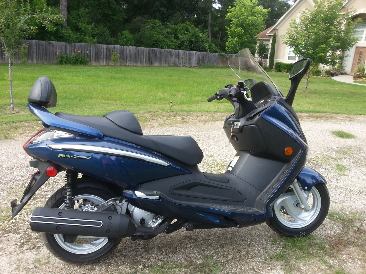 2009 SYM Rv 250 , motorcycle listing
