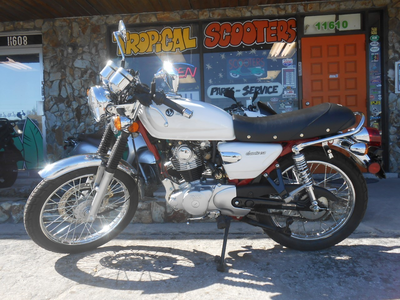 2012 SYM WOLF CLASSIC, motorcycle listing