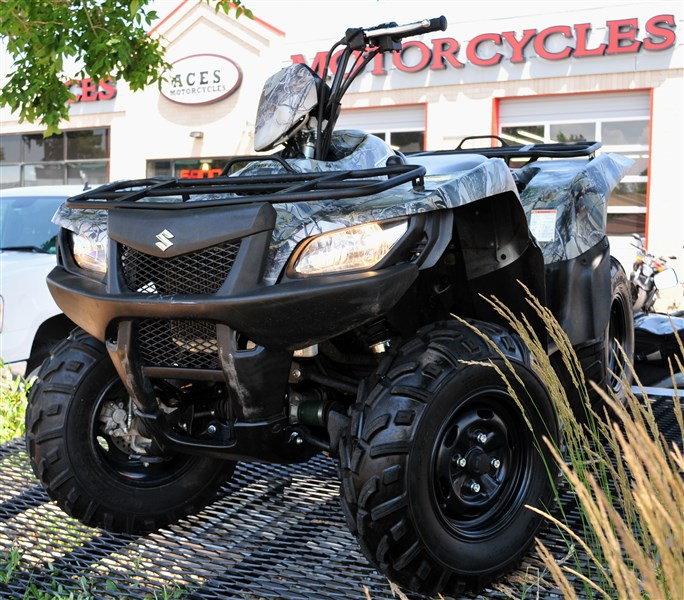 2013 Suzuki KingQuad 500 - AXi Power Steer LTA500XPC, motorcycle listing