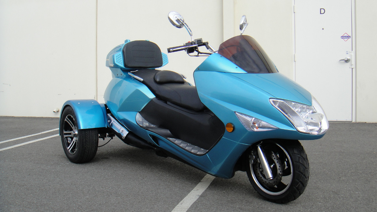 2015 Tao Tao 300cc Compeller Trike Scooter Moped, motorcycle listing