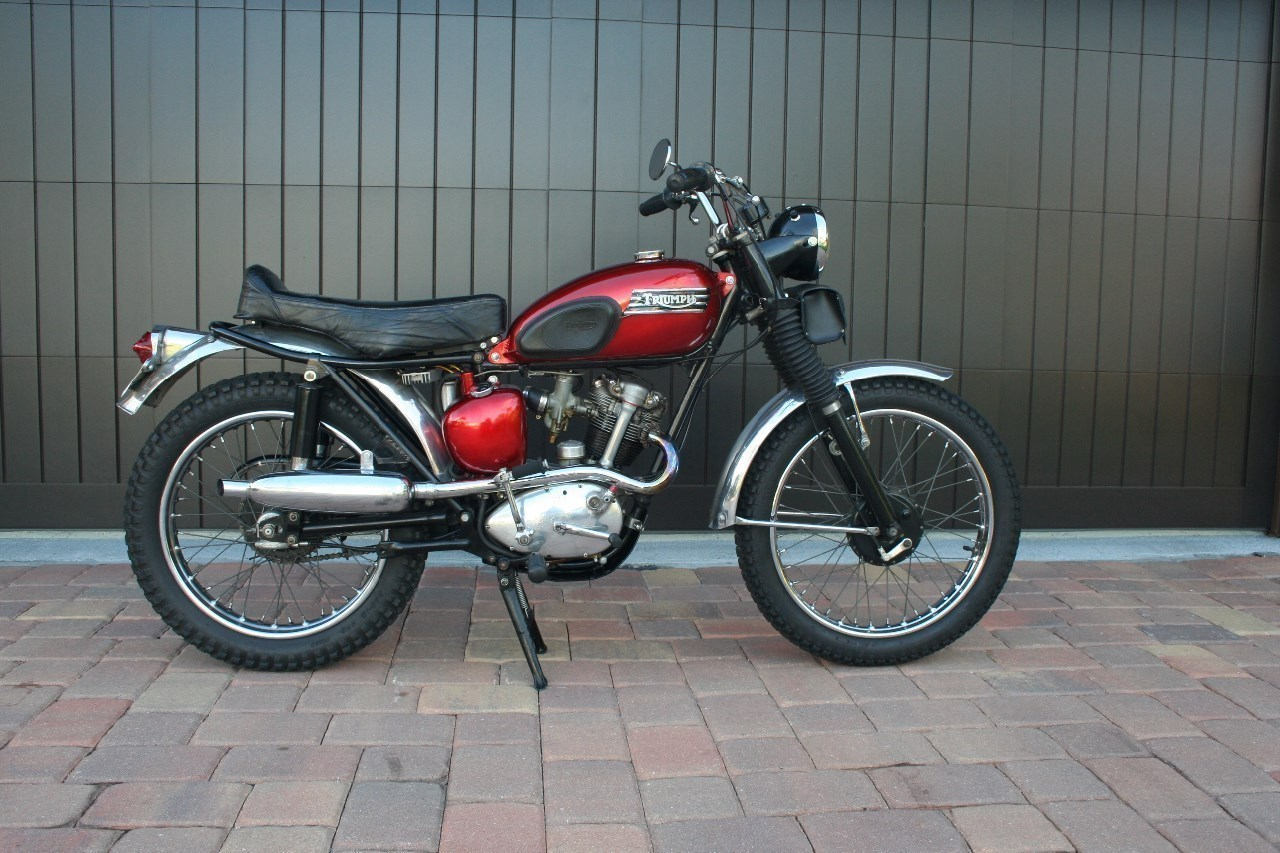 1960 Triumph Tiger , motorcycle listing