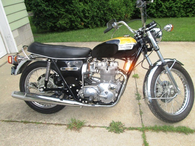 1974 Triumph Trident , motorcycle listing