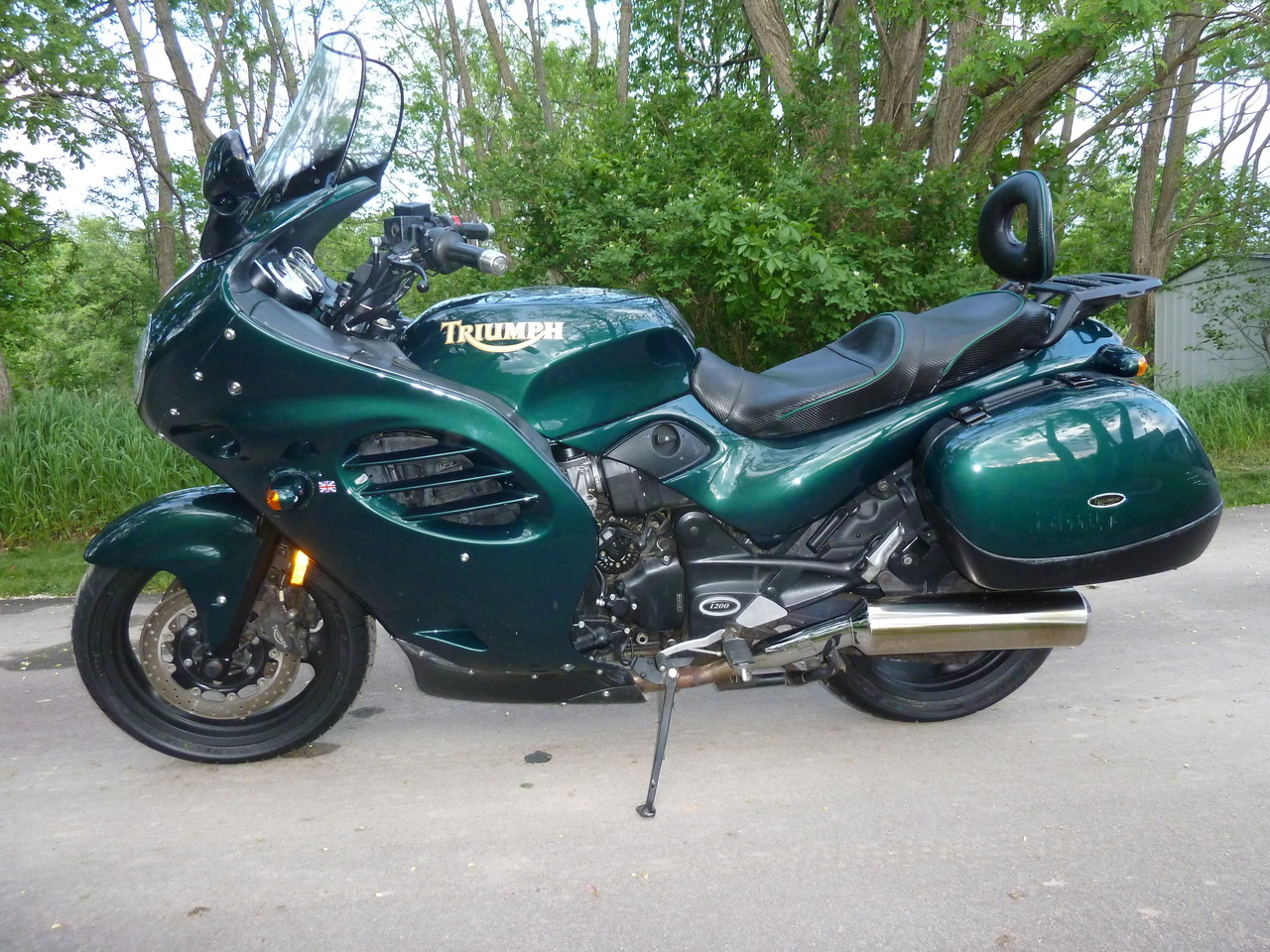 2000 Triumph Trophy 1200, motorcycle listing