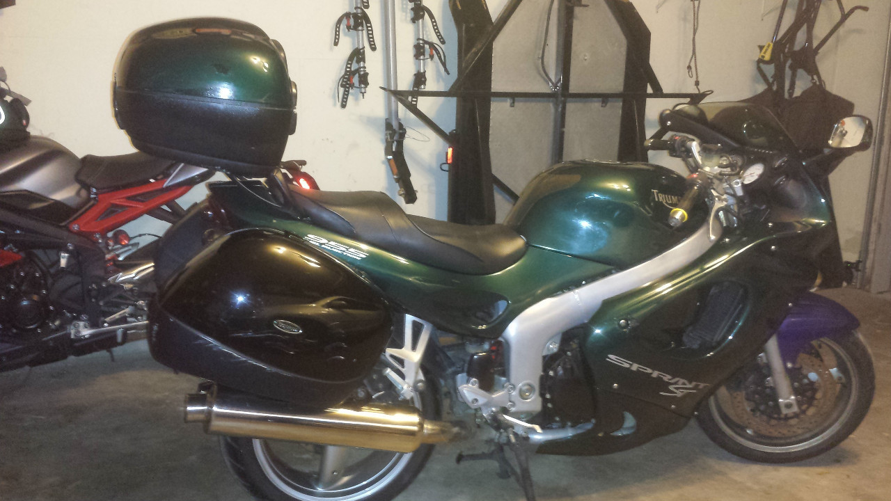 2001 Triumph Sprint ST, motorcycle listing
