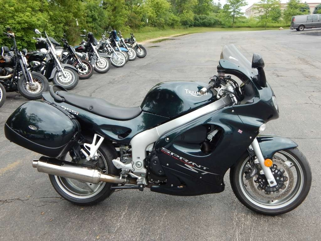 2003 Triumph SPRINT ST, motorcycle listing