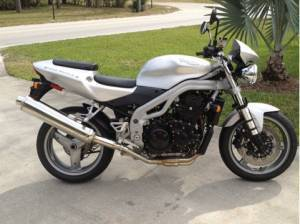 2003 Triumph Street Triple , motorcycle listing