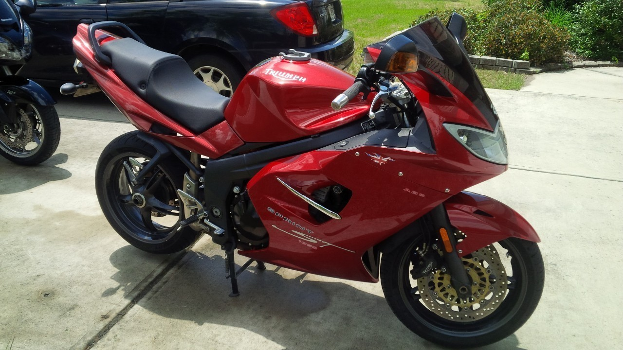 2006 Triumph Sprint ABS, motorcycle listing
