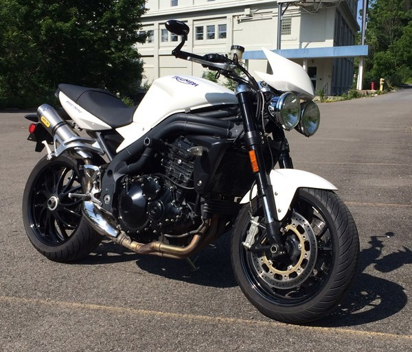2008 Triumph Speed Triple 1050, motorcycle listing