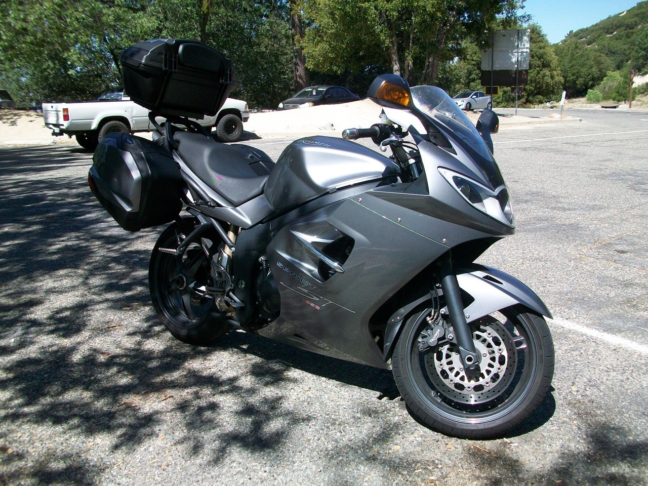 2008 Triumph Sprint ABS, motorcycle listing