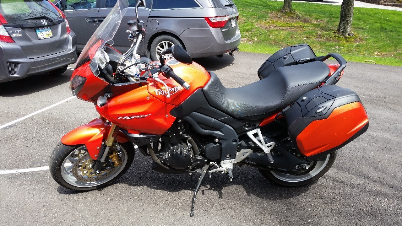 2008 Triumph Tiger 1050, motorcycle listing