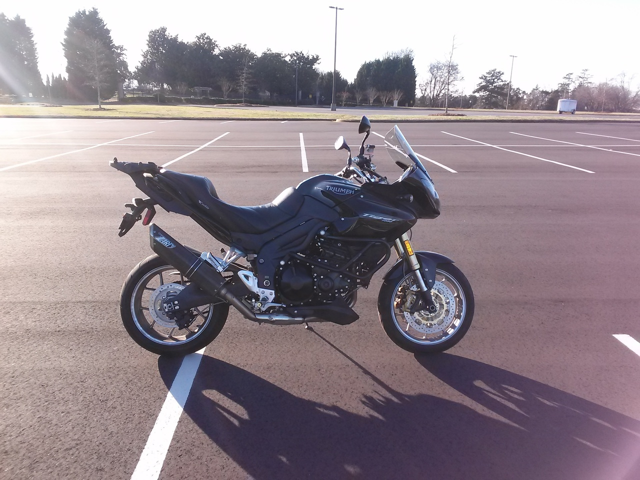 2008 Triumph Tiger 1050 SE, motorcycle listing