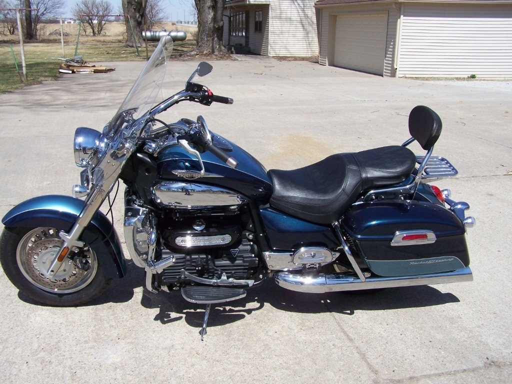 2009 Triumph Rocket III TOURING ABS, motorcycle listing