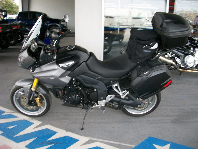 2010 Triumph Tiger 1050 SE, motorcycle listing