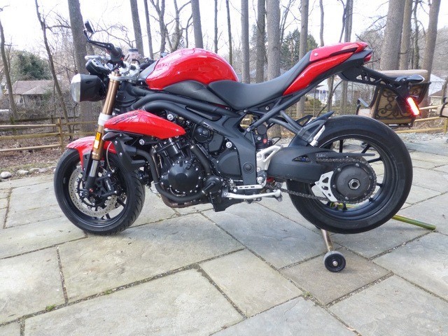 2011 Triumph Speed Triple 1050, motorcycle listing