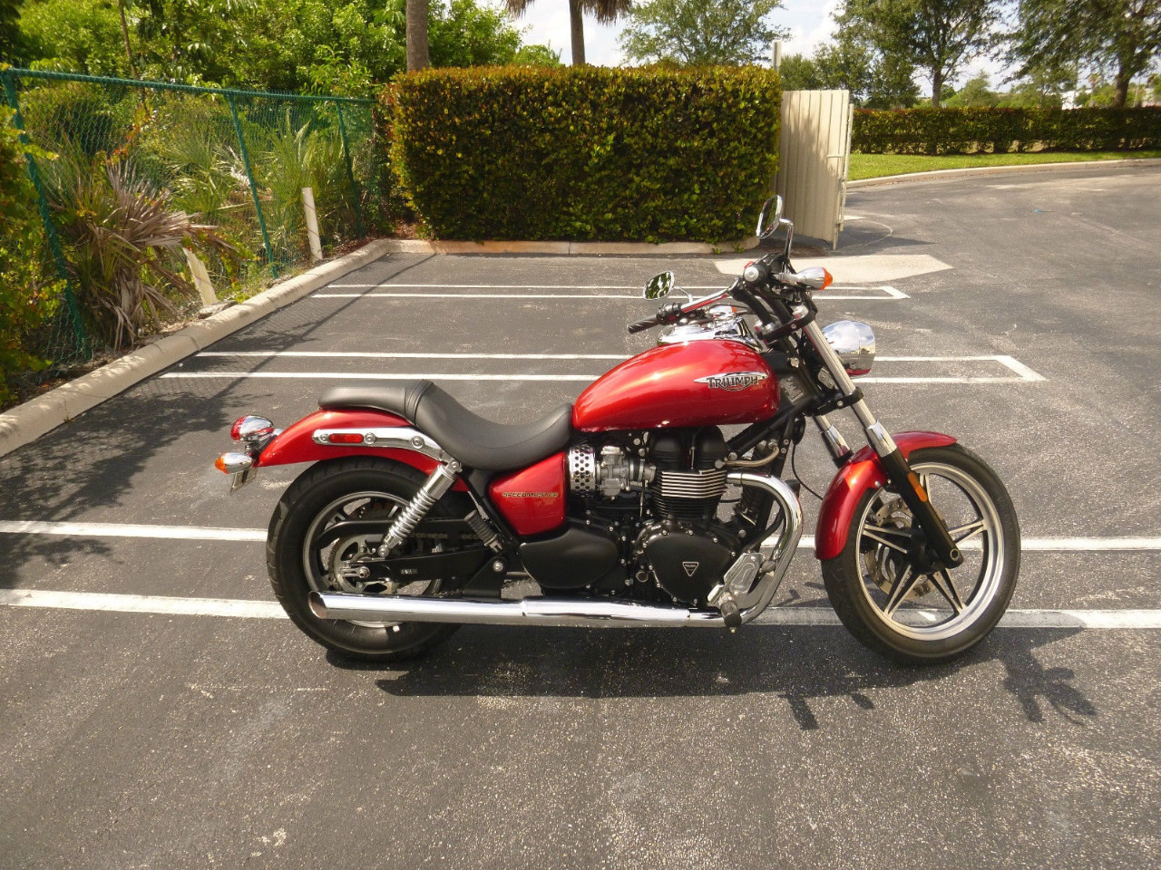 2011 Triumph Speedmaster , motorcycle listing