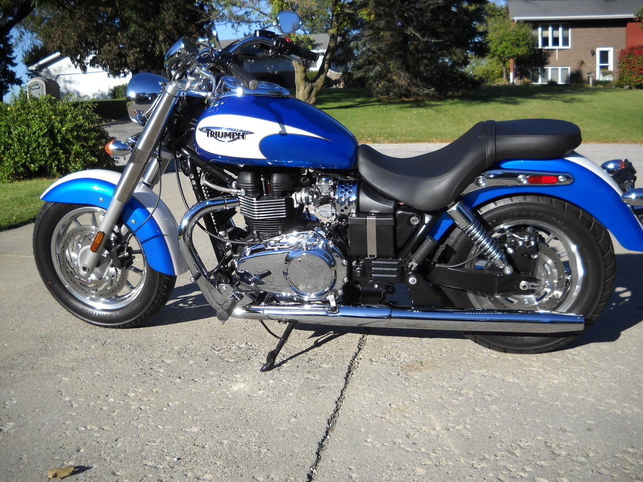 2012 Triumph America , motorcycle listing