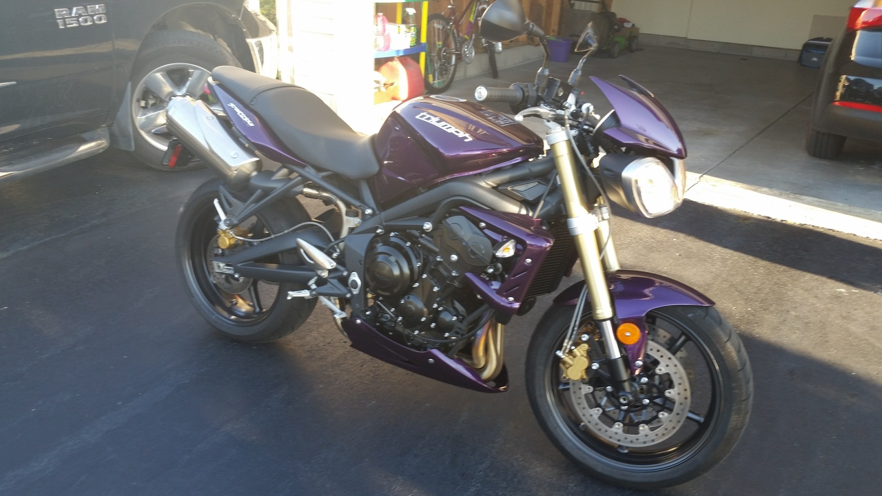 2012 Triumph Street Triple 675, motorcycle listing