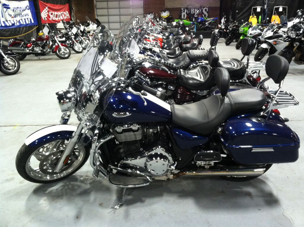 2012 Triumph Thunderbird ABS - Pacific Blue, motorcycle listing