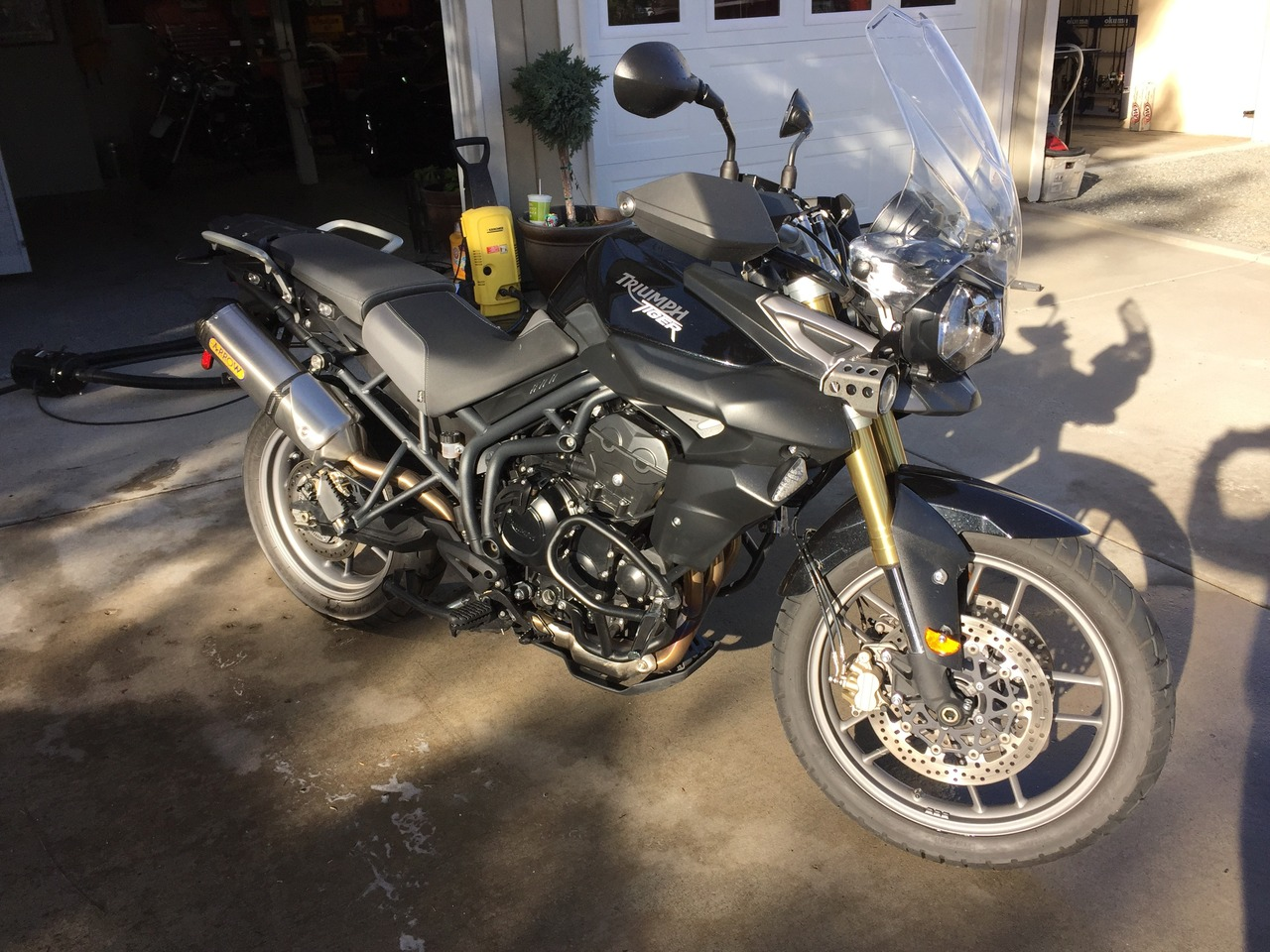 2012 Triumph Tiger 800 ABS, motorcycle listing