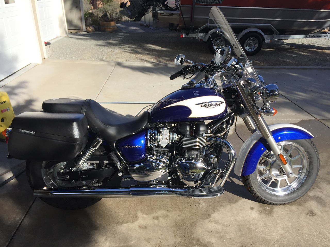 2013 Triumph America , motorcycle listing