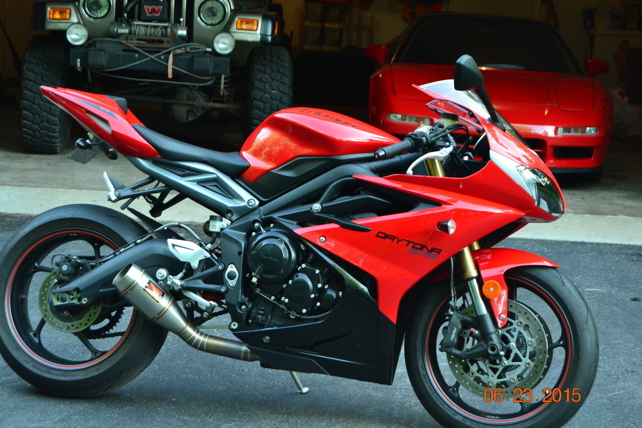 2013 Triumph Daytona 675 ABS, motorcycle listing