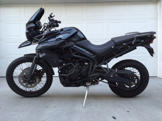 2013 Triumph Tiger 800 XC ABS, motorcycle listing