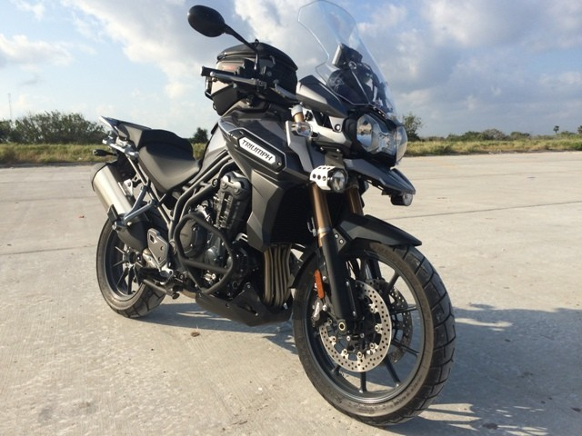 2013 Triumph Tiger EXPLORER, motorcycle listing