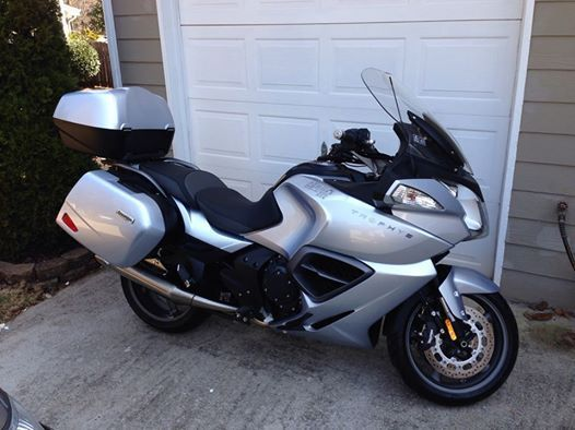 2013 Triumph Trophy SE, motorcycle listing