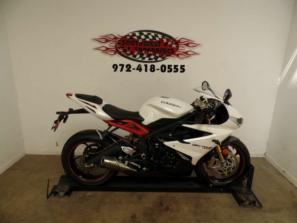 2014 Triumph Daytona 675R ABS, motorcycle listing
