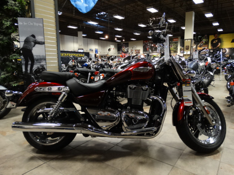 2014 Triumph Thunderbird Commander ABS, motorcycle listing