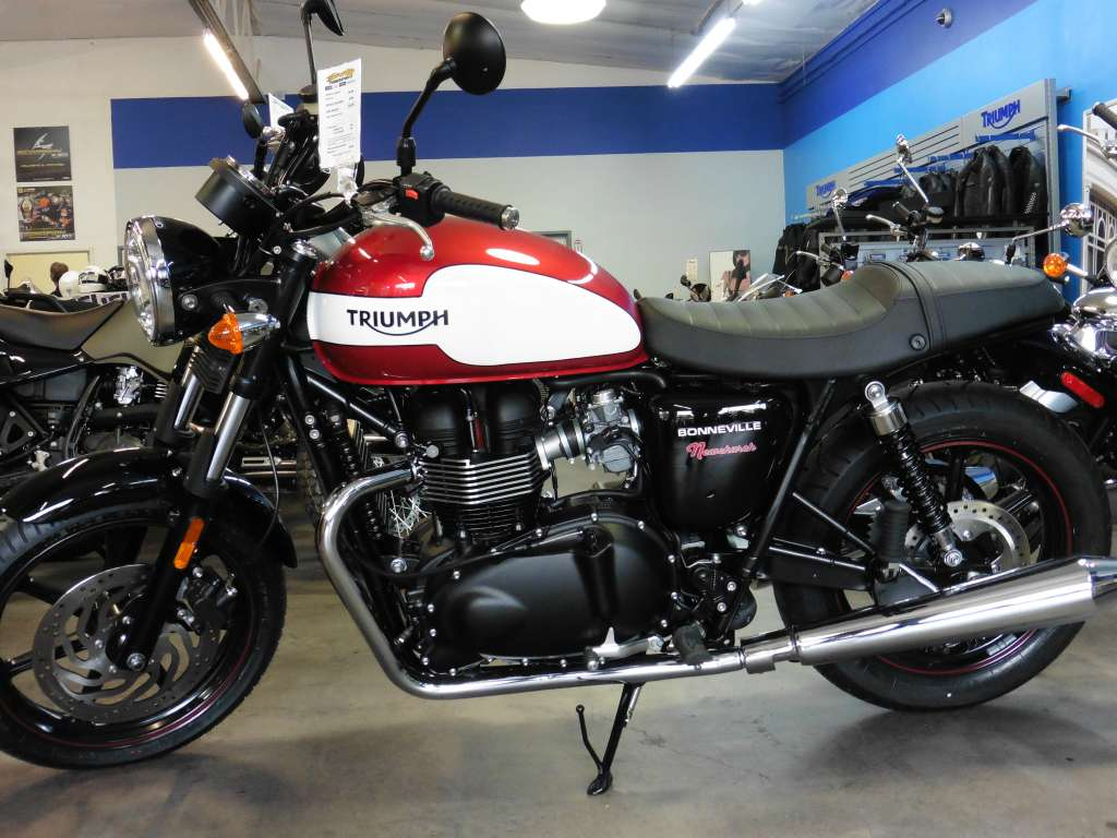 2015 Triumph Bonneville Newchurch Special Edition, motorcycle listing